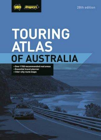 UBD Gregory's Touring Atlas of Australia 28th Ed