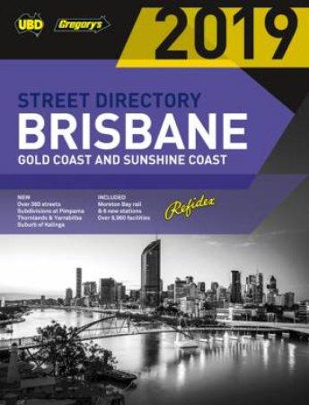 Brisbane Refidex Street Directory 2019 63rd by UBD Gregory's