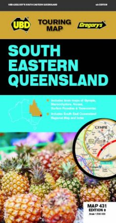 South Eastern Queensland Map 431 8th Ed.
