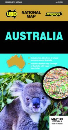Australia Map 149 6th ed by Various