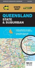 Queensland State  Suburban Map 470 28th Ed