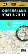 Queensland State  Cities Map 419 9th Ed Waterproof