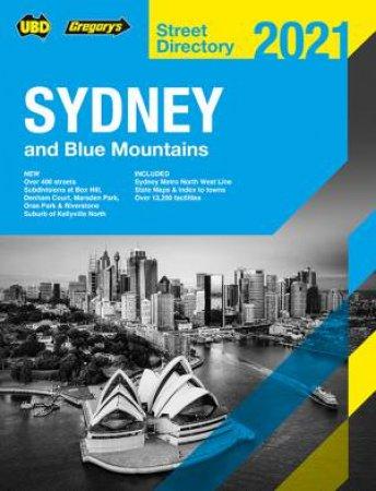 Sydney & Blue Mountains Street Directory 2021 57th Ed