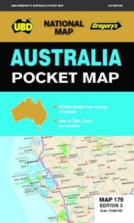 Australia Pocket Map 179 3rd Ed