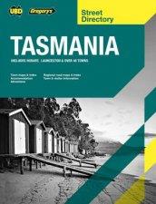 Tasmania Hobart  Launceston Street Directory 22nd