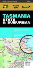 Tasmania State  Suburban Map 770 28th Ed