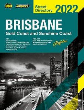Brisbane Refidex Street Directory 2022 66th by Various