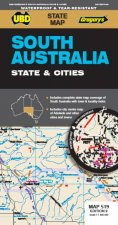 South Australia State  Cities Map 519 10th Ed Waterproof