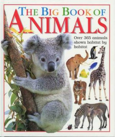 The Big Book Of Animals by Sheila Hanly