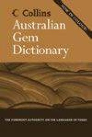 Collins Gem Australian Dictionary by Unknown