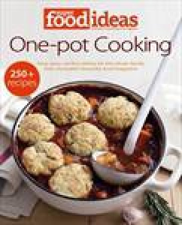 super food ideas one pot cooking by various 9780732291013