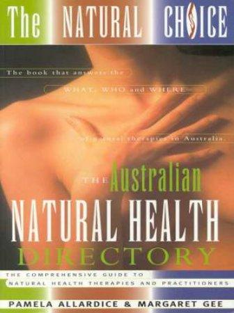 The Natural Choice by Pamela Allardice & Margaret Gee