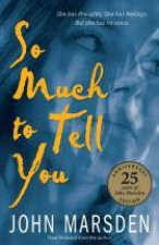 So Much To Tell You 25th Anniversary Edition