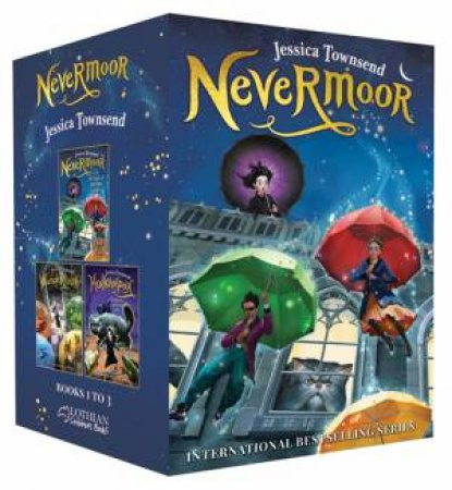Nevermoor 3 Book Box Set by Jessica Townsend