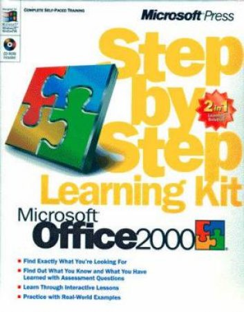 Microsoft Office 2000 Step By Step Learning Kit by Various