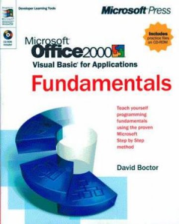 Microsoft Office 2000 Visual Basic For Applications Fundamentals by David Boctor