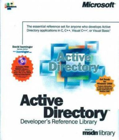 Active Directory Developer's Reference Library by David Iseminger -  9780735609921 - QBD Books