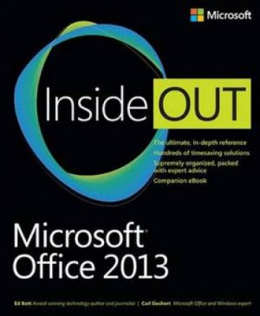 Microsoft(R) Office 2013 Inside Out by Ed Bott