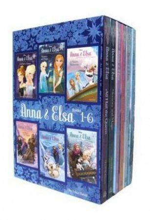 Disney Frozen Anna & Elsa: Books 1-6