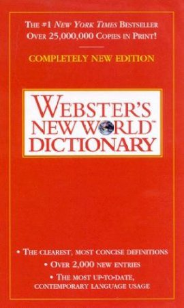 Webster's New World Dictionary by Michael E Agnes