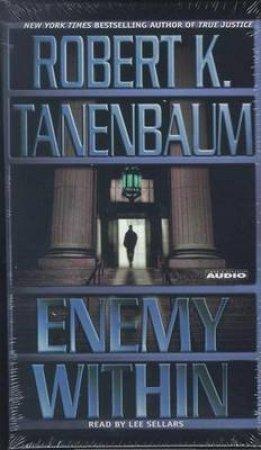 Enemy Within - Cassette by Robert K Tanenbaum