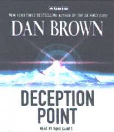 Deception Point - CD by Dan Brown
