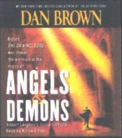 Angels & Demons - CD by Dan Brown