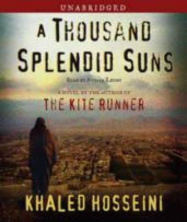 A Thousand Splendid Suns - CD by Khaled Hosseini