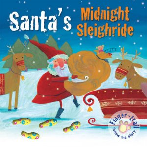 Santa's Midnight Sleighride by Elena Pasquali