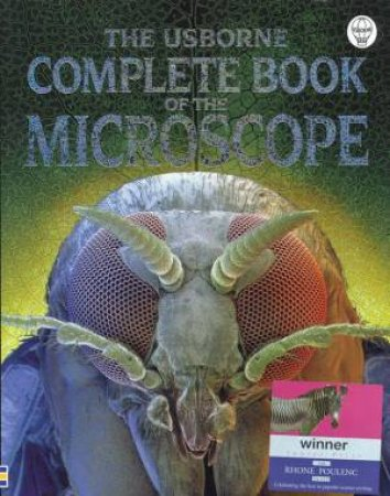 The Usborne Complete Book Of The Microscope by Kirsteen Rogers