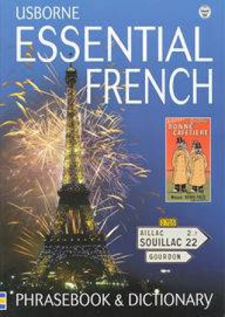 Usborne Essential French Phrasebook & Dictionary by Various