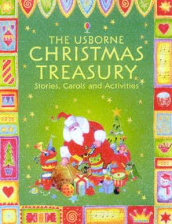 The Usborne Christmas Treasury: Stories, Carols And Activities - Book & CD by Various