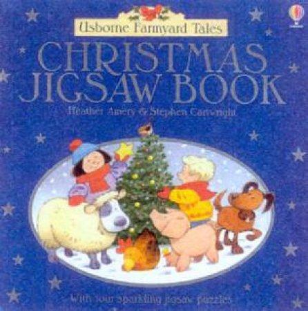 Usborne Farmyard Tales: Christmas Jigsaw Book by Heather Amery & Stephen Cartwright