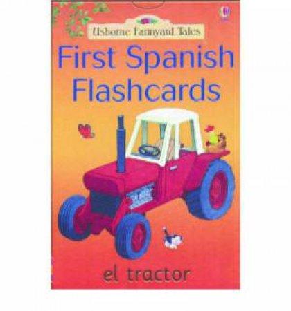 Usborne Farmyard Tales: First Spanish Flashcards by Various