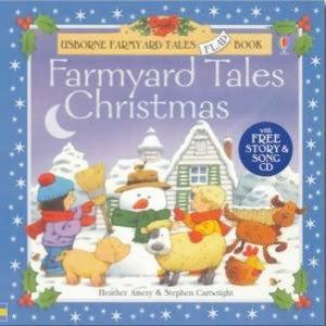 Usborne Farmyard Tales Flap Book: Farmyard Tales Christmas - Book & CD by Various