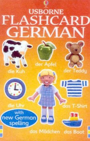 Usborne Flashcards: Everyday Words In German by Various