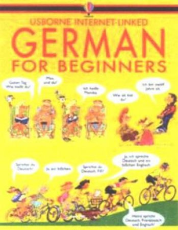 Usborne Internet-Linked German For Beginners by Various