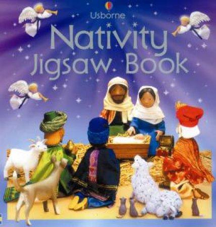 Nativity Jigsaw Book by Jo Litchfield
