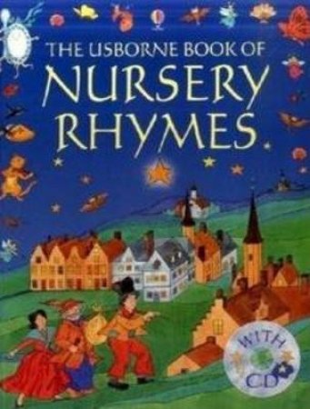 The Usborne Book Of Nursery Rhymes - Book & Tape by Unknown