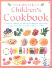 The Usbornes Little Childrens Cookbook