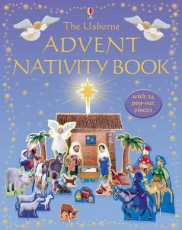 Usborne Advent Nativity Book by Gill Doherty