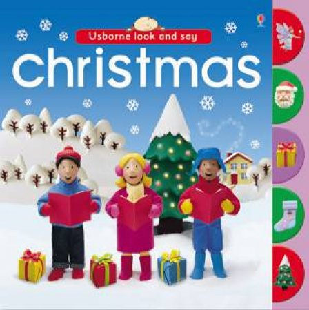 Usborne Look and Say: Christmas by Felicity Brooks