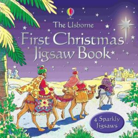 The Usborne First Christmas Jigsaw Book by Heather Amery