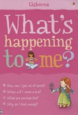 Usborne Facts Of Life Whats Happening To Me   Girl