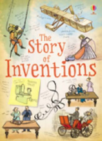 Book Of Inventions by Anna Claybourne