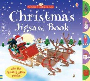 Usborne Look & Say: Christmas Jigsaw Book by Various