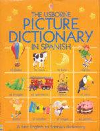 Picture Dictionary In Spanish by Felicity Brooks