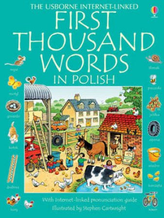 Usborne First Thousand Words in Polish by Various