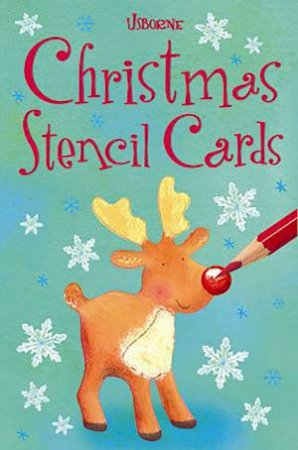 Christmas Stencil Cards by Fiona Watt