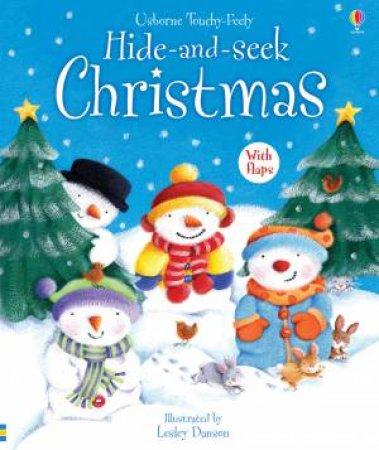 Usborne Touchy Feely: Hide-And-Seek Christmas by Fiona Watt